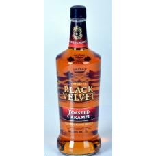 Виски Блэк Вельвет Карамель (Black Velvet Caramel) 1 литр