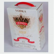 Водка Смирнов 3 литра (Smirnoff) тетрапак