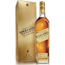 Виски Джони Уокер Голд Резерв (Johnnie Walker Gold Reserve) 1 литр
